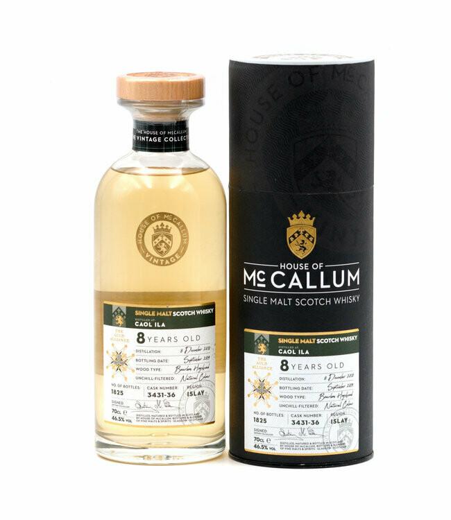 Caol Ila 8 Years House Of MacCalum 46.5% 70CL
