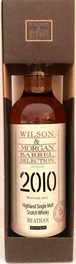 Beathan 7 Years 2010 Wilson & Morgan 50% 70CL