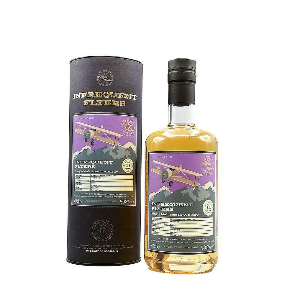 Craigellachie Distillery 11 Years Infrequent Flyers 59.8% 70CL
