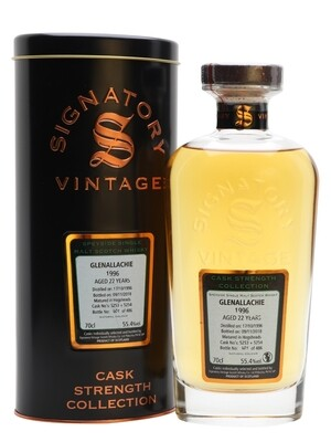GlenAllachie 21 Years Signatory 54.8% 70CL