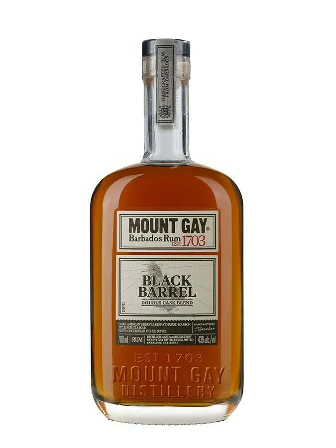 Mount Gay Black Barrel Rum (New) 43% 70CL