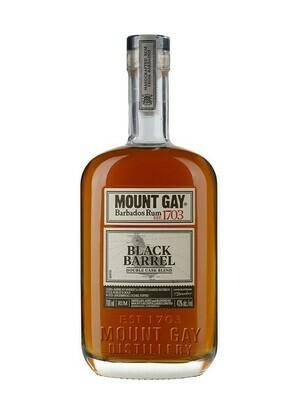 Mount Gay Black Barrel Rum (New) 43% 70CL