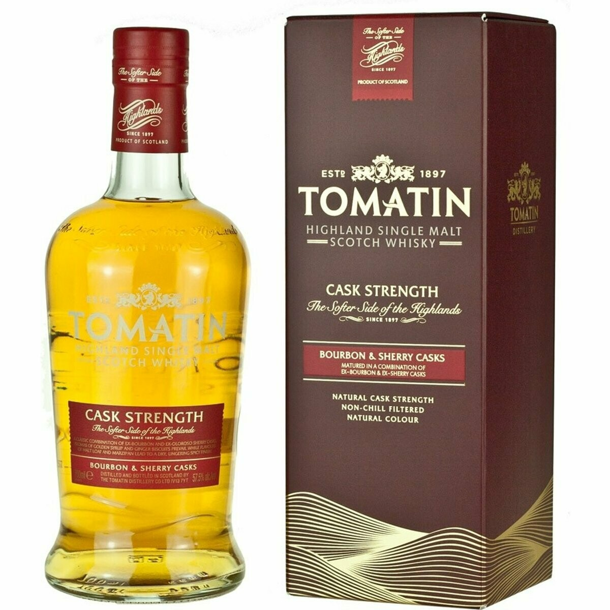 Tomatin Cask Strenght 57.5% 70CL