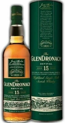 Glendronach 15 Years Revival 46% 70CL