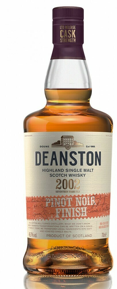 Deanston 2002 17 Years Pinot Noir finish 50% 70CL