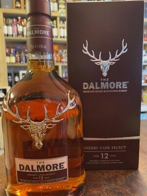 The Dalmore 12 Years Sherry 43% 70CL