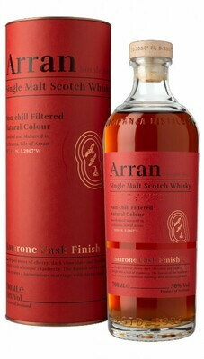 Arran Amarone Cask Finish 50% 70CL
