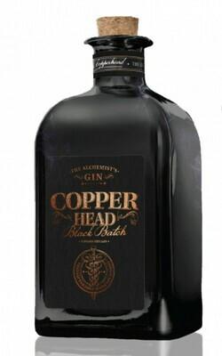 Copperhead Gin Black Batch 42% 50CL