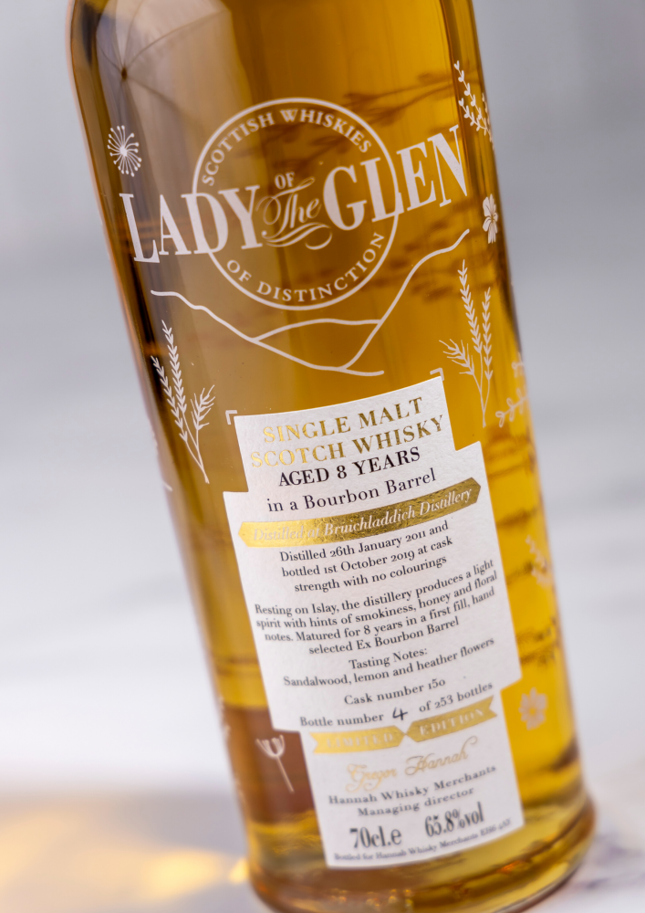 Bruichladdich 8 Years Lady Of The Glen 65.8%