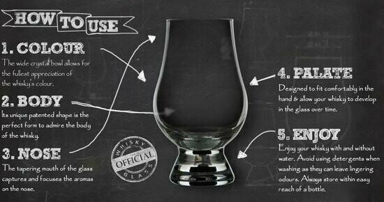 The Glencairn Whisky Glazen 1 Doos 6 Stuks