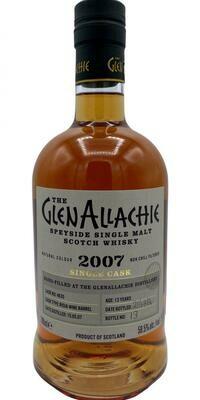 GlenAllachie Single Cask 2007 59.5% 70CL
