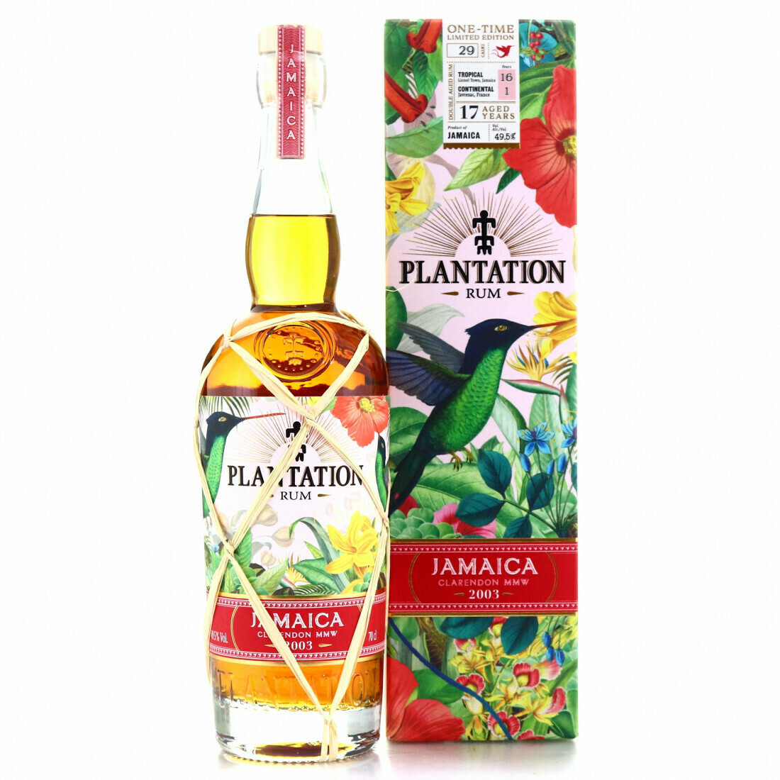 Plantation Jamaica clarendon 17 Years 2003 49.5% 70CL
