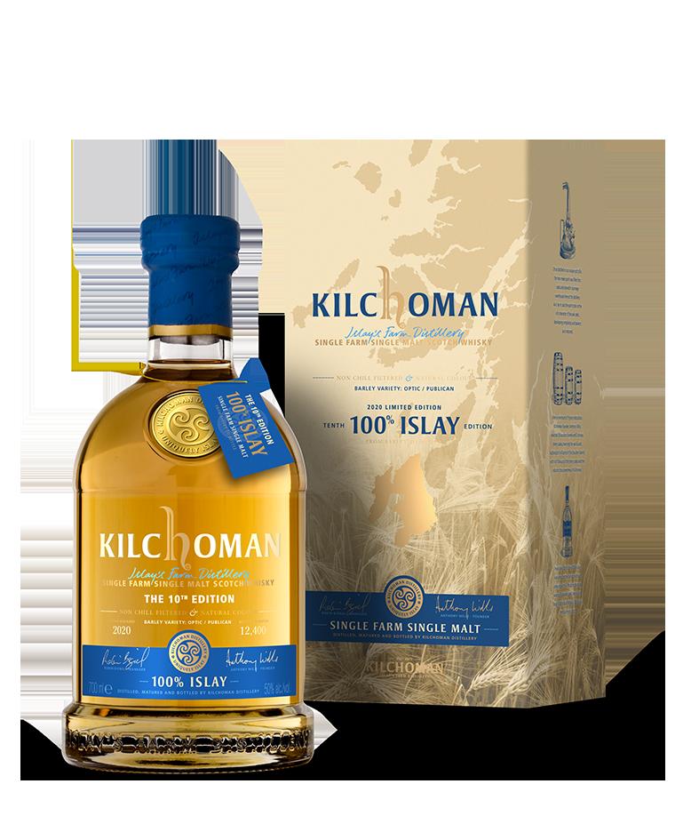Kilchoman 100% Islay 10Th Edition  50% 70CL