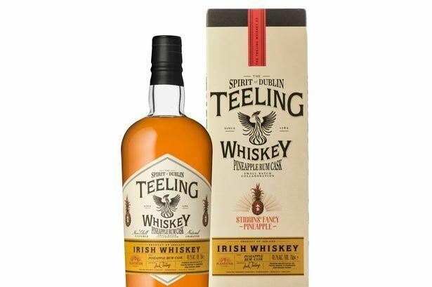 Teeling Pineappel Rum Cask 49.2% 70CL
