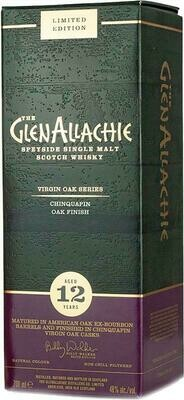 GlenAllachie 12 Years old Chinquapin Virgin Oak 48% 70CL