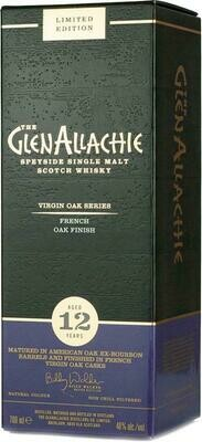 GlenAllachie 12 Years old French Virigin Oak 48% 70CL