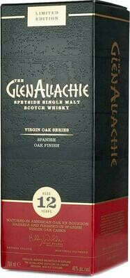 GlenAllachie 12 Years old Spanish  Oak 48% 70CL