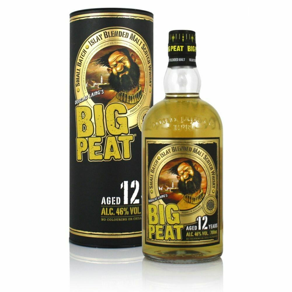 Big Peat 12 Years old 46% 70CL