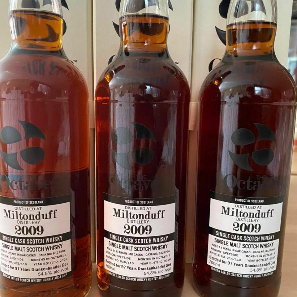 Miltonduff 2009 11 years 54.8% 70CL