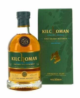 Kilchoman Fino Sherry 46% 70CL
