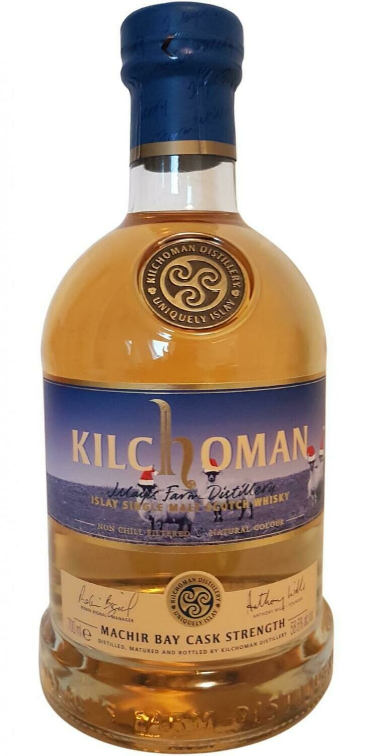 Kilchoman Machir Bay Cask Strenght Edition 2020 58.6% 70CL