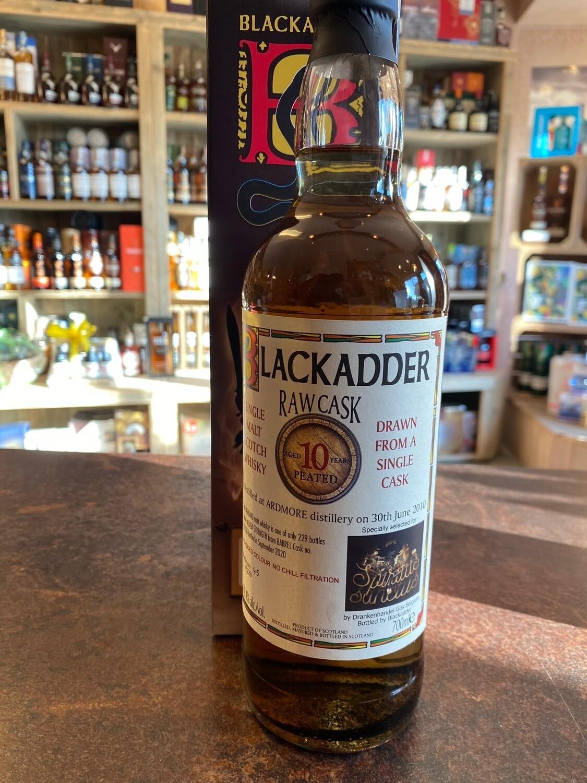 Ardmore 10 Years Blackadder RAW Cask 60.4% 70CL
