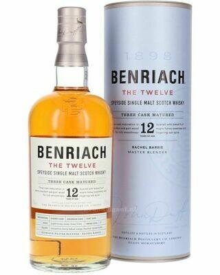 Benriach 12 Years Three Cask 46% 70CL