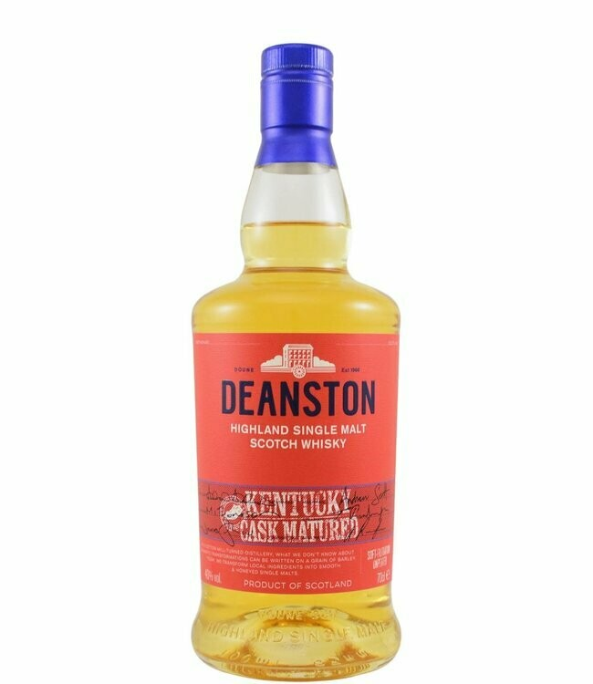 Deanston Kentucky Cask Matured 40% 70CL