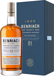 Benriach 21 Years old 46% 70CL