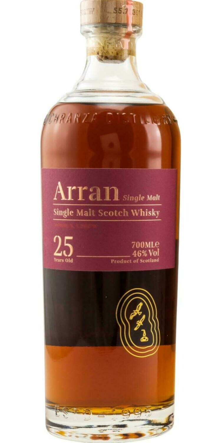 Arran 25 Years old 46% 70CL
