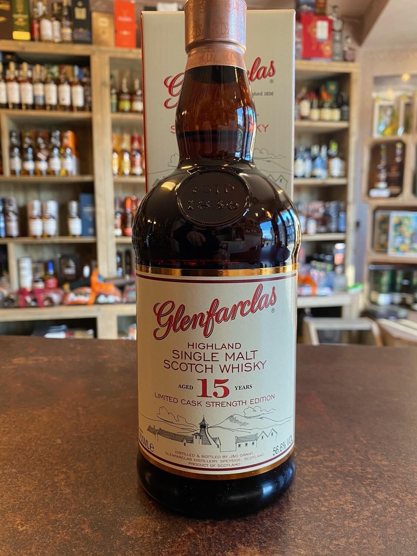 Glenfarclas 15 Years Cask Strength Edition Belgium 56.6% 70CL