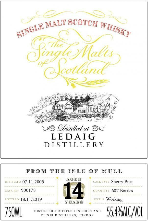Ledaig 14 Years Single Malts Scotland 57.8% 70CL