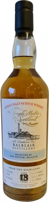 Blair Athol 14 Years Single Malts of Scotland 54.6%