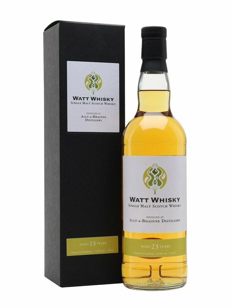 Allt-A-Bhainne Wat Whisky 23 Years 51.3% 70CL