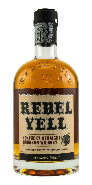 Rebel Yell Kentucky Straight Bourbon Whiskey 40% 70CL