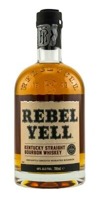 Rebel Yell Kentucky Straight Bourbon Whiskey 40% 70CL
