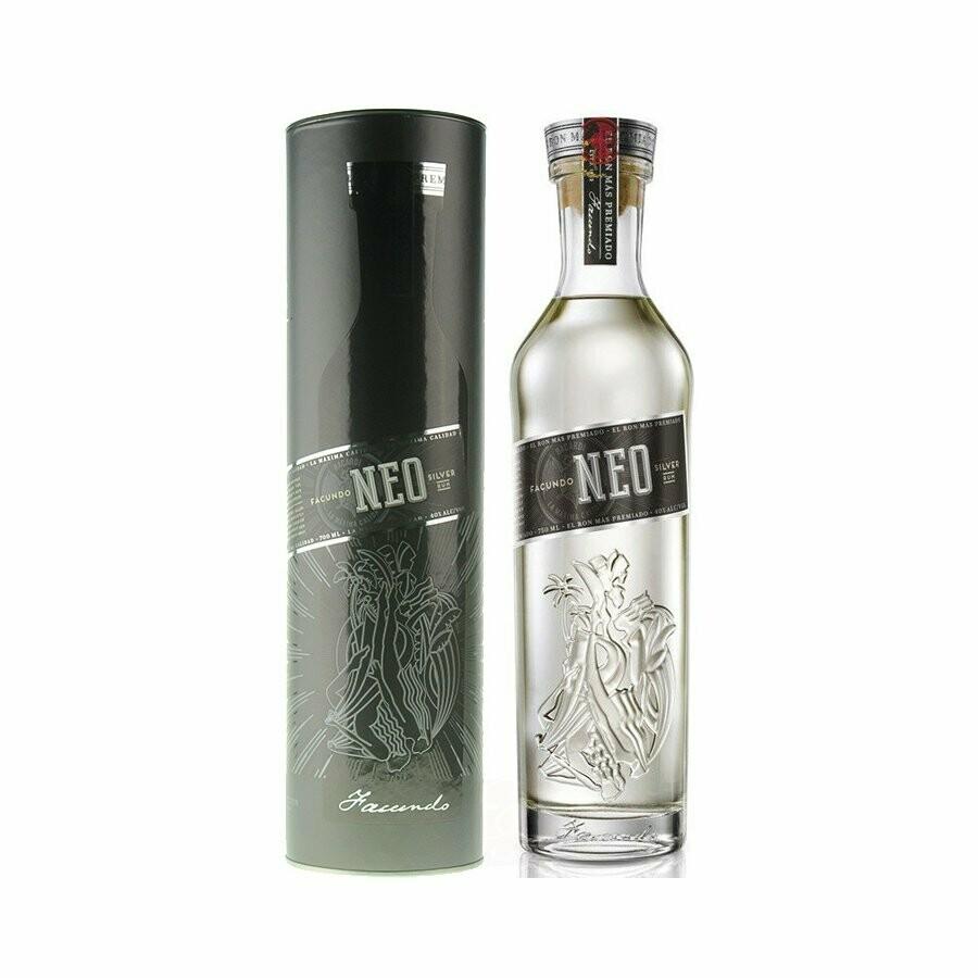 Facundo NEo Silver Rum 40% 70CL