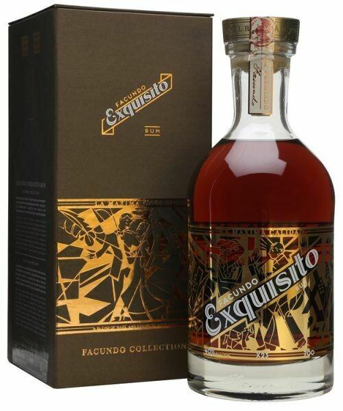 Facundo Exquisito Rum 40% 70CL