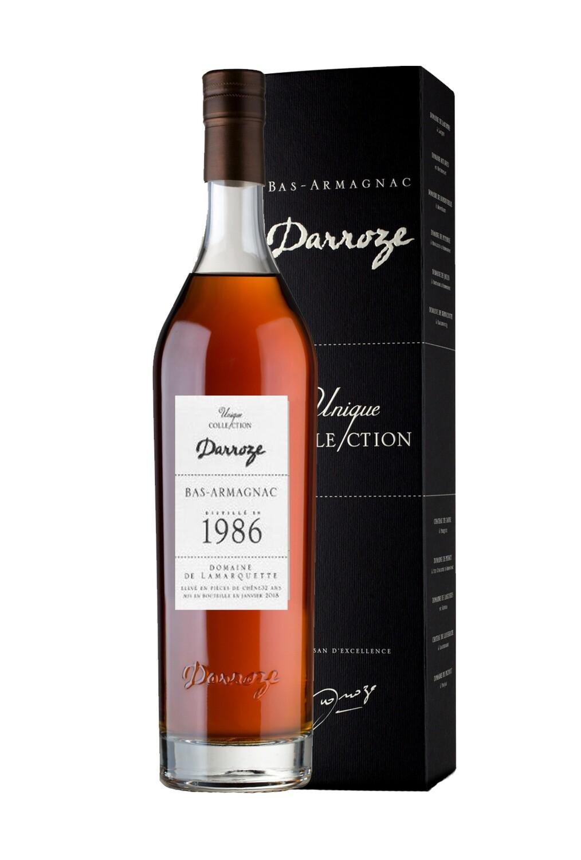 Darroze Armagnac Domaine De Lamarquette 1986 48% 70CL