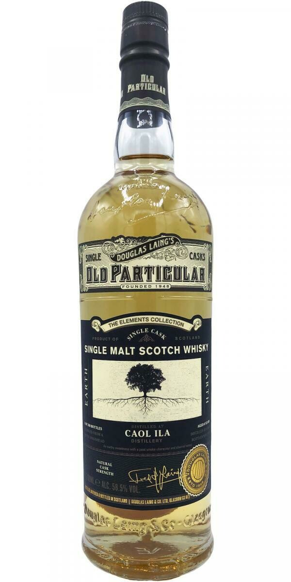Caol Ila The Elements Collection Earth 58.4% 70CL
