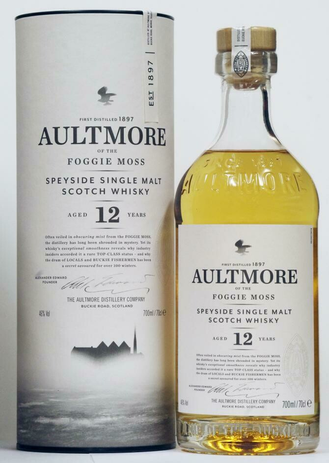 Aultmore 12 Years 46% 70CL