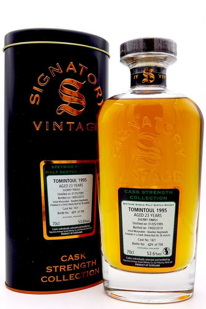Tomintoul 23 Years 1995 53.6%