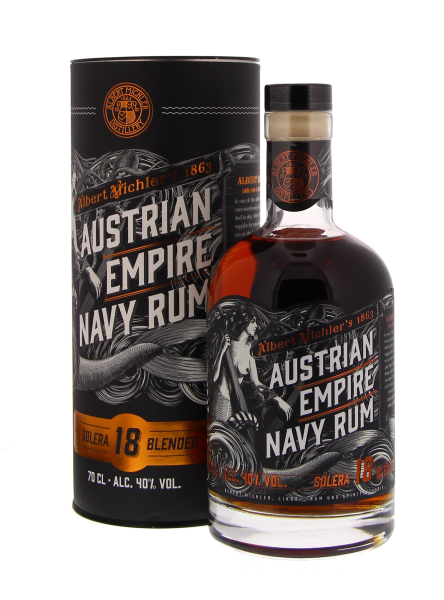 Austrian Empire Navy Rum Solera 18 Years Blended 40% 70CL