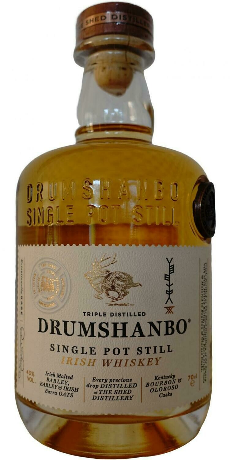 Drumshanbo Single Pot Still 43% 70CL