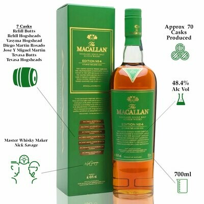 The Macallan Edition N°4 48.4% 70CL