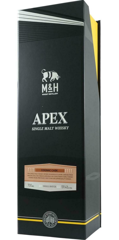 M&H APEX 2017 Cognac Cask 69.4% 70CL
