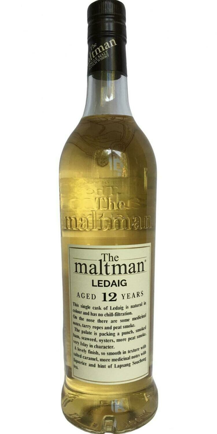 Ledaig 12 Years The Maltman 52.7% 70CL