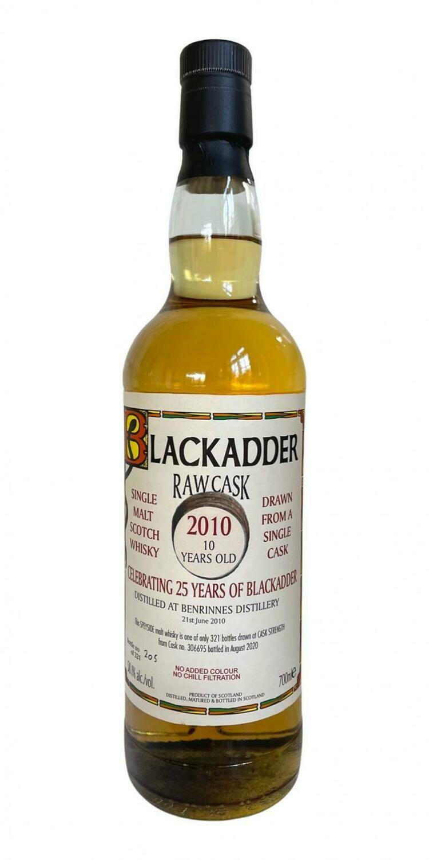 Benrinnes BlackAdder RAW Cask 10 Years 58.1% 70CL