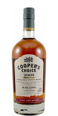 Blair Athol 2009 Sherry Cask Cooper's Choice 52.5% 70CL
