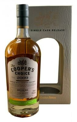 Speyburn 2009 Calvados Cask Finish Coopers Choice 53% 70CL